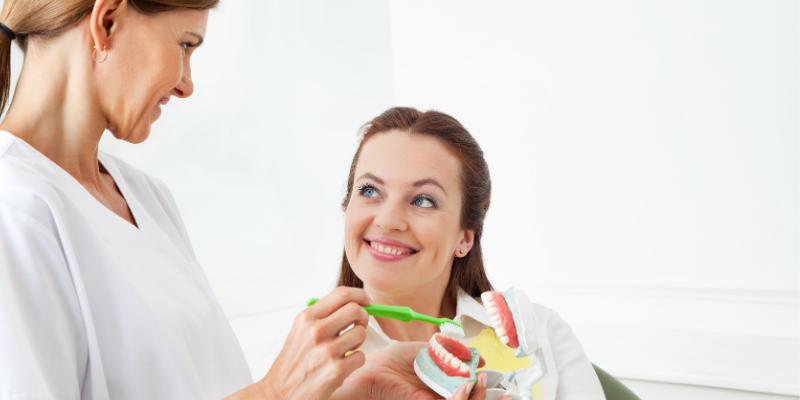 spravna technika cistenia zubov
