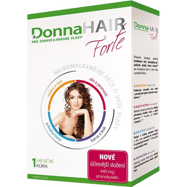 Donna Hair Forte 30 tbl