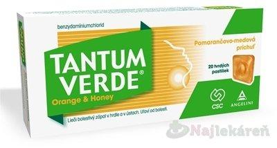 Tantum Verde Orange & Honey pas.ord.20x3mg