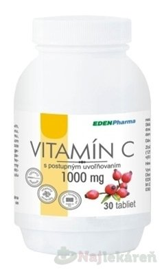EDENPharma VITAMÍC C 1000MG 30 tablet