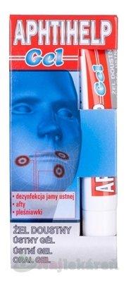 Gorvita Aphtihelp ústný gel 10g