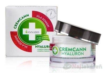 Annabis Cremcann Hyaluron Konopný krém 15 ml
