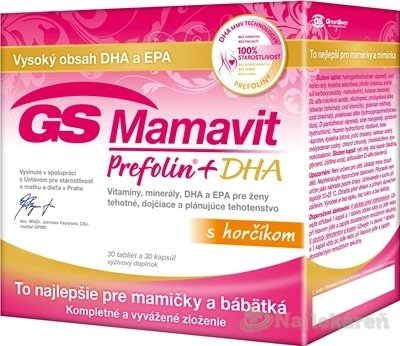 GS Mamavit Perfolin+DHA 60 kapsúl