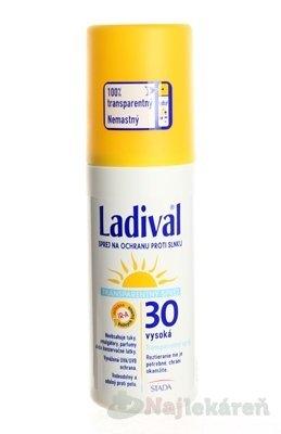 Ladival Transparent spray SPF30 150 ml