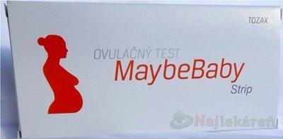 MaybeBaby strip 4v1 ovulačný test pásik 4 ks
