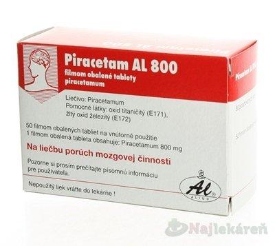 Piracetam AL 800 tbl.flm.50x800mg