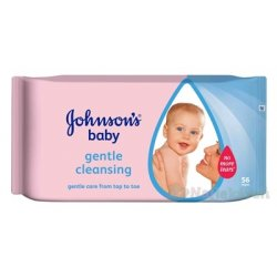 Johnson's Baby wipes Gentle cleansing