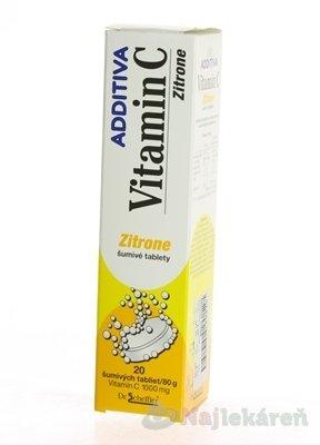 Additiva Vitamín C Zitrone 20 ks
