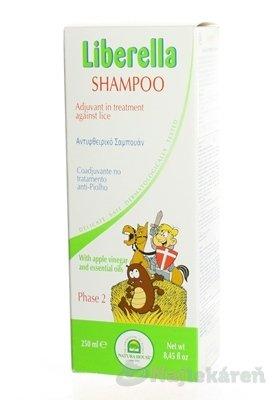 NH Liberella rodinné balenie kondicioner 125 ml + hrebeň + šampón 250 ml darčeková sada