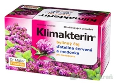 Dr. MULLER Čaj klimakterin 20 x 1,5 g