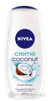 Nivea Coconut Cream sprchový gél 250 ml