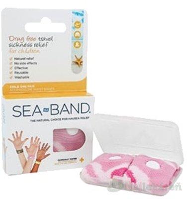 SEA BAND akupresúrne náramky detské 2ks