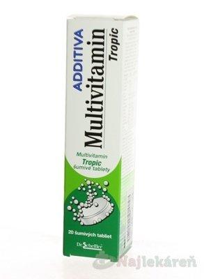 Additiva Multivitamín TROPIC 20 ks
