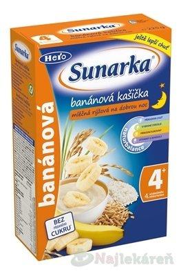 Sunarka banánová kašička na dobrú noc 225g mliečna kaša