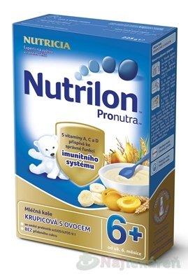 Nutrilon Pronutra 6+ mliečna kaša krupicová s ovocím 225 g