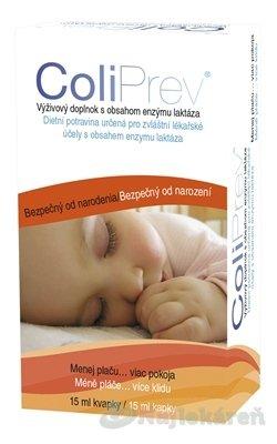 Celsis Farmaceutica ColiPrev kapky dopl.stravy s obsahem laktázy 15 ml