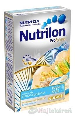 Nutrilon Profutura prvá obilno-mliečna kaša - NUTRICIA Nutrilon Profutura Ryžovo Kukuričná 225 g
