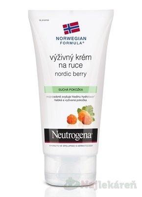 Neutrogena Nordic Berry výživný krém na ruky 75 ml