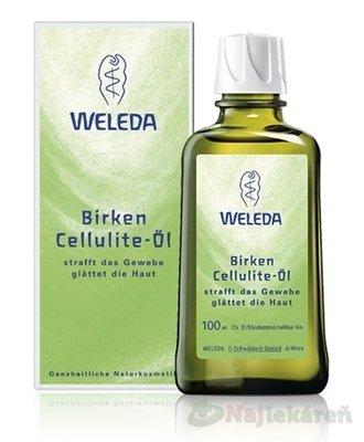 Weleda Brezový olej proti celulitíde 100 ml