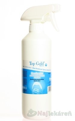 Top Gold 115 Deo sprej do obuvi 500 ml