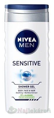 Nivea Men Sensitive sprchový gél 250 ml