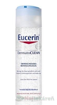 Eucerin čistiace pleťový gél DermatoCLEAN 200 ml