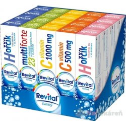 Revital effervescent MIX BOX