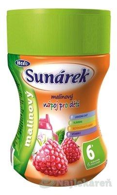 Sunárek instantný nápoj malinový, 200 g
