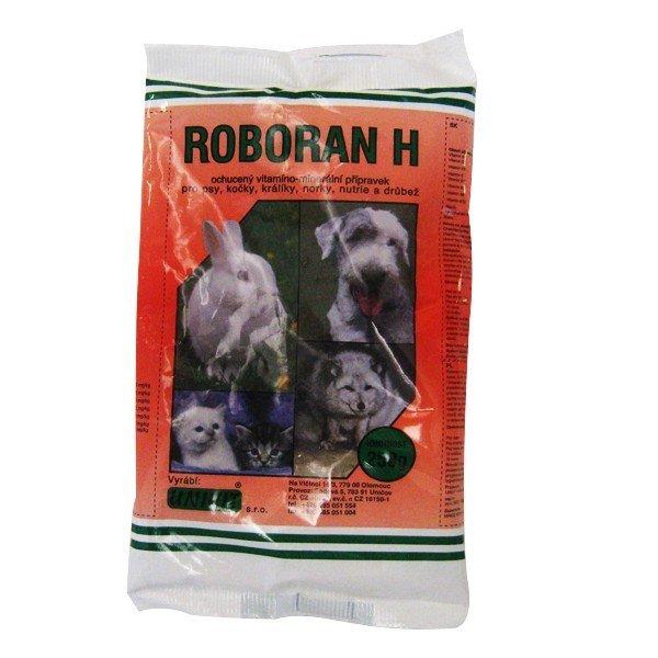 ROBORAN H pre psy, mačky, králiky a kožušinové zvieratá 250 g