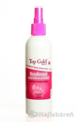 Top Gold dezodorant s měsíčkem + šalvějí + Tea Tree Oil 150 g