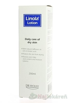Linola telové mlieko 200 ml