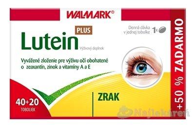 Walmark Lutein PLUS, 60 toboliek