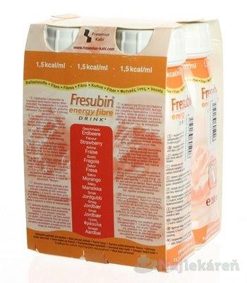 Fresubin PROTEIN ENERGY DRINK - EasyBottle, príchuť lesná jahoda, 4x200 ml (800 ml)
