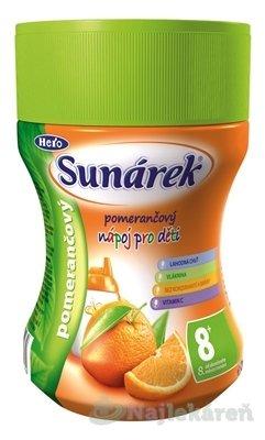 Sunárek instantný nápoj pomarančový