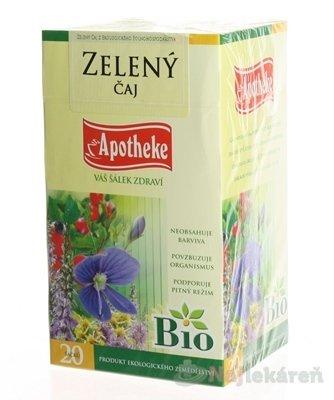 Apotheke BIO zelený čaj 20 x 1,5 g