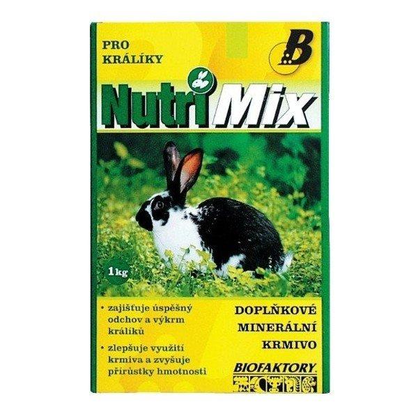 Biofaktory Nutri Mix pro králíky 1 kg