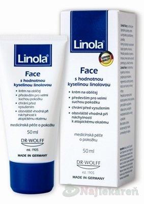 Linola Gesicht 50 ml - Linola Face krém na tvár 50 ml