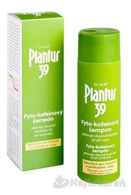Planatur 39 Kofeínový šampón farebné vlasy 250 ml