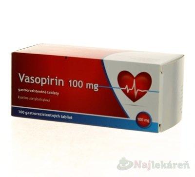 Vasopirin 100mg tbl.ent.100x100mg