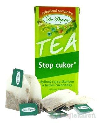DR.POPOV Čaj Stop cukor porciovaný 30 g