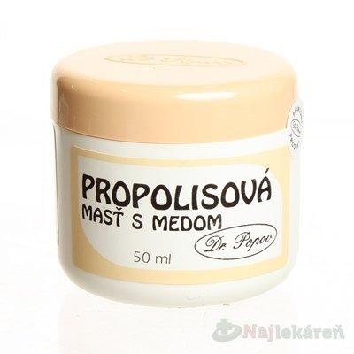 Dr.Popov Propolisová mast s medem 50 ml