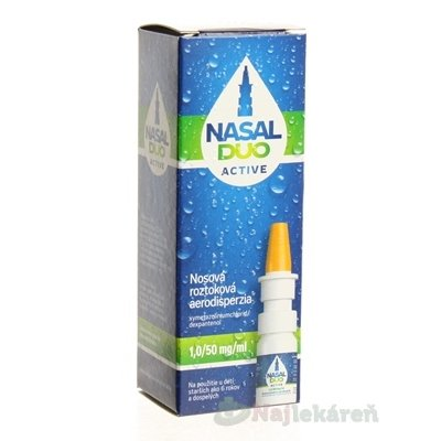 NASAL DUO ACTIVE 1,0/50 mg/ml