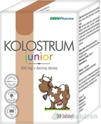 EdenPharma KOLOSTRUM JUNIOR tbl. 500 mg 30 ks