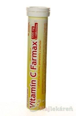 FARMAX Vitamín C tbl eff1x20 ks