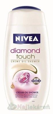 Nivea Diamond Touch sprchový gél 250 ml