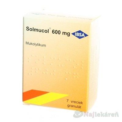 Solmucol 600mg gra.7x2,7g