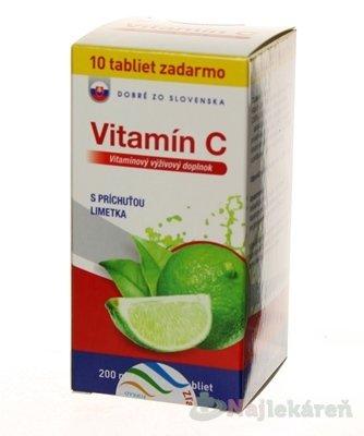 DZSK Vitamin C 200mg Limetka 70 tabliet