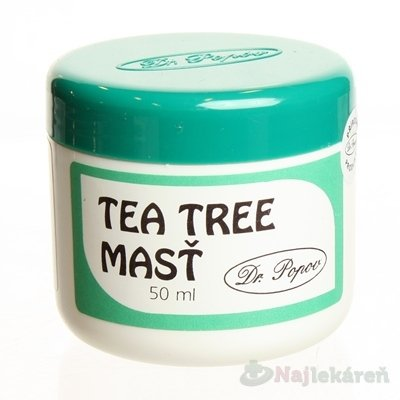 DR. POPOV MASŤ TEA TREE OIL 50ml