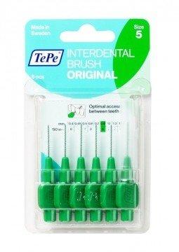 TePe Original 0,8mm medzizubné kefky zelené 6ks