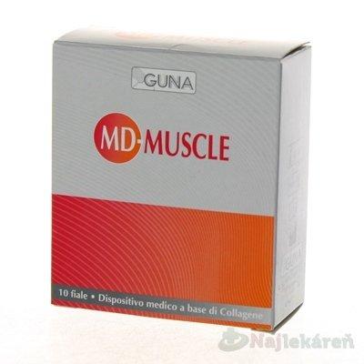 GUNA MD MUSCLE kolagénový roztok 10x2ml
